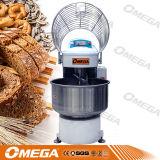 Mezcla de harina en espiral máquina mezcladora de polvo