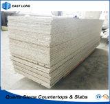 Bancada de cozinha de pedra de quartzo artificial para material de construção com preço competitivo (cores)