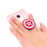 Los Smartphones popular; la ampliación de la toma de teléfono móvil Popular toma titular titular de la telefonía celular y el agarre con el logotipo personalizado