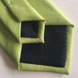 Lazo tejido de moda de Microfiber de los hombres sólidos al por mayor del diseño (L043)