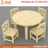 Le bois d'enfants Tour de table et chaises pour le centre de la petite enfance
