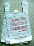 Sacchetto di plastica della maglia di acquisto del PE