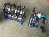 Máquina de soldadura da tubulação do HDPE do manual de Sud250m-4 63mm/250mm