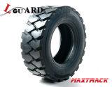 Pneus de boeuf de dérapage de chargeur de boeuf de dérapage de la Chine avec le RIM, pneus solides de pneu de chat sauvage