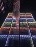 Panels des Hochzeits-Disco-Licht-3D des Spiegel-LED Dance Floor/DMX 512 LED Dance Floor