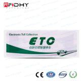 Barcode Printing RFID Winshield Tag avec protection UV
