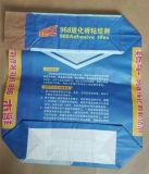 시멘트를 위한 Kraft 주문을 받아서 만들어진 종이 봉지는 PE 코팅으로 또는 모래로 덮는다