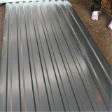 Material de construção Produtos de aço Cobertura de telhado galvanizado Folha de telhado ondulado