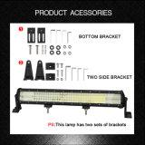 4 rangs barre LED 384w 24v Barre d'éclairage à LED 20 pouces