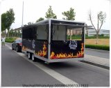 أستراليا سوق مطبخ آلة إستعمال, متحرّك طعام عربة مقطورة تصميم