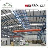 Plaqueta la hoja de acero, panel sándwich de bastidor de la estructura de acero de almacenes prefabricados