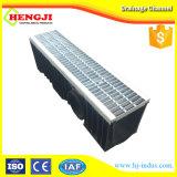 Plástico caliente de venta Canal lineal con rejilla de acero galvanizado