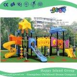 Чудесным спортивная площадка детей мира океана гальванизированная животным стальная с скольжением (HG-9902)