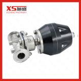 Мембранный клапан высокой очищенности нержавеющей стали SS316L пневматический