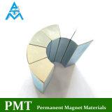 N38uh Neodym-magnetisches Material mit Nattier blauem Zink