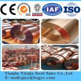 99.99 La pureté du tube de cuivre (C11000, C17200, C12200, C17500, C10200)
