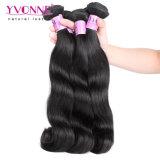 Yvonne 100% Malaysian Cabelo humano virgem de alta qualidade Remy Onda do Corpo de cabelo