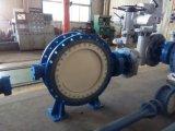Válvula de vedação de metal bidirecional de saída da bomba do pipeline de suprimento de água