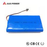 18650 batteria ricaricabile dello ione di 3.7V 10.4mAh Li