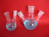 Heißer Glas-Kolben der Verkaufs-löschendrei Stutzen-Boro3.3