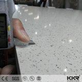 水晶石20mmのベージュ人工的な珪岩の平板