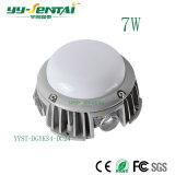 lumière en aluminium de coulage sous pression de POINT de 7W DEL (YYST-DGYKS4)