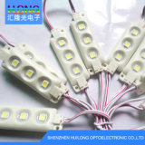 16*60mm SMD LED impermeabilizzano il modulo luminoso di 65 LED