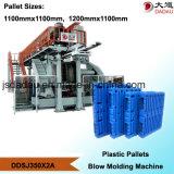 Schlag-formenmaschine der Plastikladeplatten
