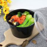 플라스틱 둥근 사발 처분할 수 있는 음식 상자는 식사 콘테이너 생물 분해성 포장을 나른다