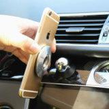Supporto di alluminio del supporto dell'automobile del magnete del forte autoadesivo di 3m