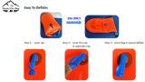 De heldere Zak van de Boei van de Zwemmer van de Kleur Floatable Droge voor Triathletes