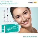 Remplissage secret de gel de Derma de remplissage d'ha d'Aqua