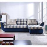 Base di sofà a forma di L multifunzionale con grande memoria