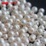 le perle d'acqua dolce rotonde del grande foro di 8-9mm comerciano per la fabbricazione dei monili