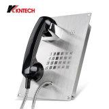 Analoges Telefon-wasserdichtes Koontech eingebettetes allgemeines Telefon Knzd-07