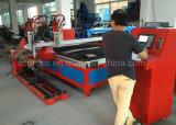 Machine de découpage de plaque métallique de plasma d'acier inoxydable de fer de précision