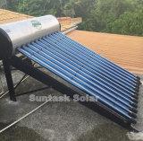 Het geïntegreerdei & Onder druk gezette ZonneVerwarmingssysteem van het Hete die Water in Suntask wordt gemaakt
