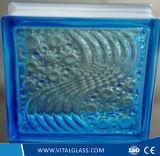 装飾的な青海原の泡ガラスレンガかガラス・ブロック