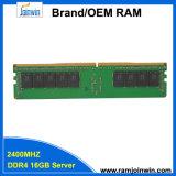 RAM van de Server van de Spaanders van de lage Dichtheid de Originele 16GB DDR4 PC4 19200