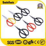 Бытовые ножницы для резки мягкой тканью металлической проволоки с несколькими острыми ножницами