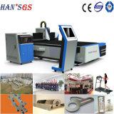 автомат для резки /Laser резца лазера 1500W с швейцарским приставным резаком
