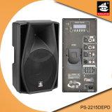 15 Zoll 350W Digital Ampere Bluetooth EQ für iPod PlastikActive PA-Lautsprecher PS-2215DEPD
