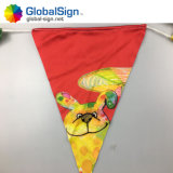 Kundenspezifisches im Freiengewebe-bunte fördernde Flagge-Markierungsfahnen-Fahne