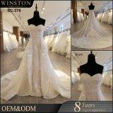 カスタム普及した最も新しく熱い販売法の高品質の新式のウェディングドレス