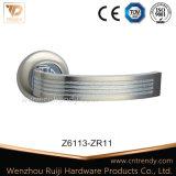 Le zinc Interiror Poignée de verrouillage de poignée de porte de matériel de verrouillage de la poignée (Z6110-ZR03)