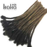 Ombre 20 Inch Crochet Afro Kinky Cheveux humains dreadlocks