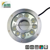 316 acero inoxidable 24V Fuente RGB LED Lámpara de submarino