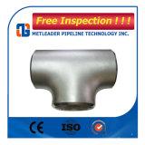 バット溶接のステンレス鋼のティーの管付属品