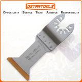 45mm (1-3/4'') Bi-Metal Titanium de metal y madera extra larga de la hoja de sierra oscilante