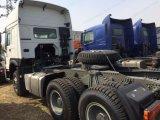 HOWO 336/371HP de 6*4 escriba man motor Tractor Trailer jefe